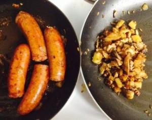 Wild Hog Sausage by Wild Man Foods with Rabbit Hash. Photo taken by WMF customer, Walter Smelt III